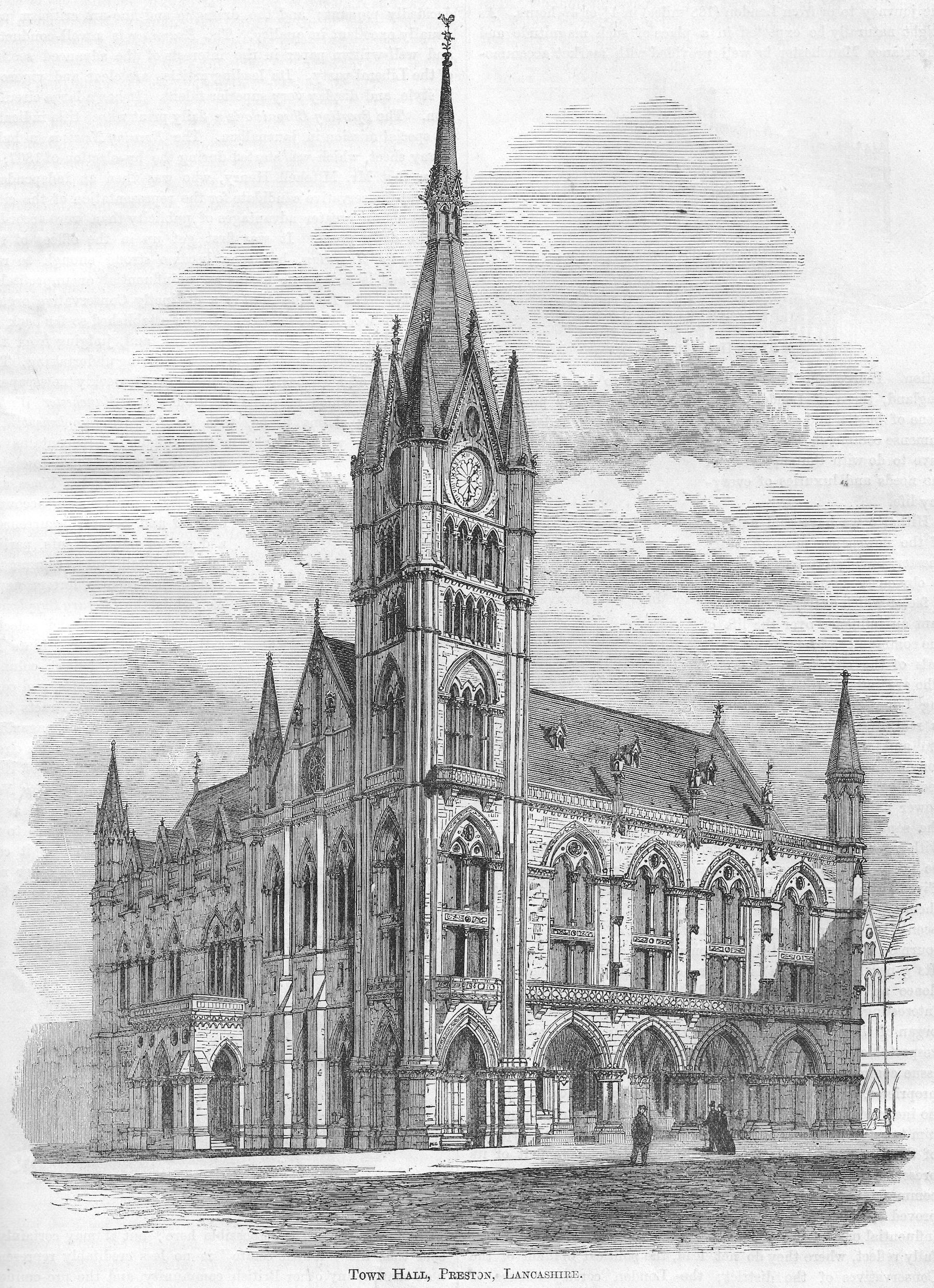 1884 Antique Architectural Print Art Prints Derby Chapel Screen In Manchester Cathedral Strengthening Waist And Sinews Architectural & Garden