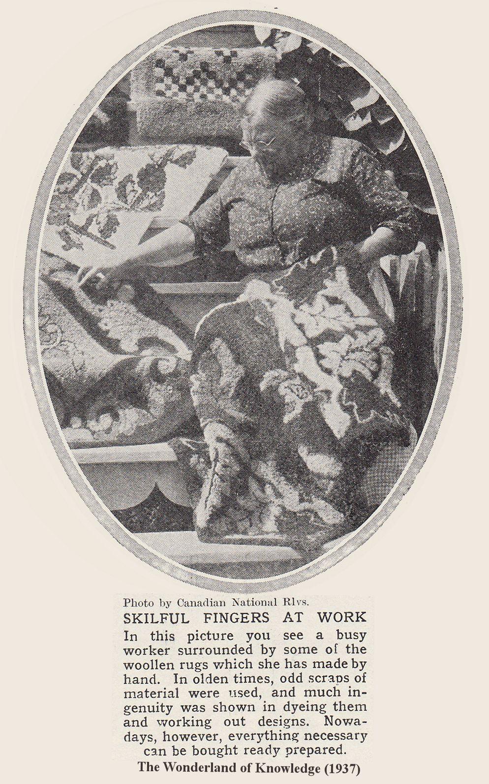A Little Latch Hook History