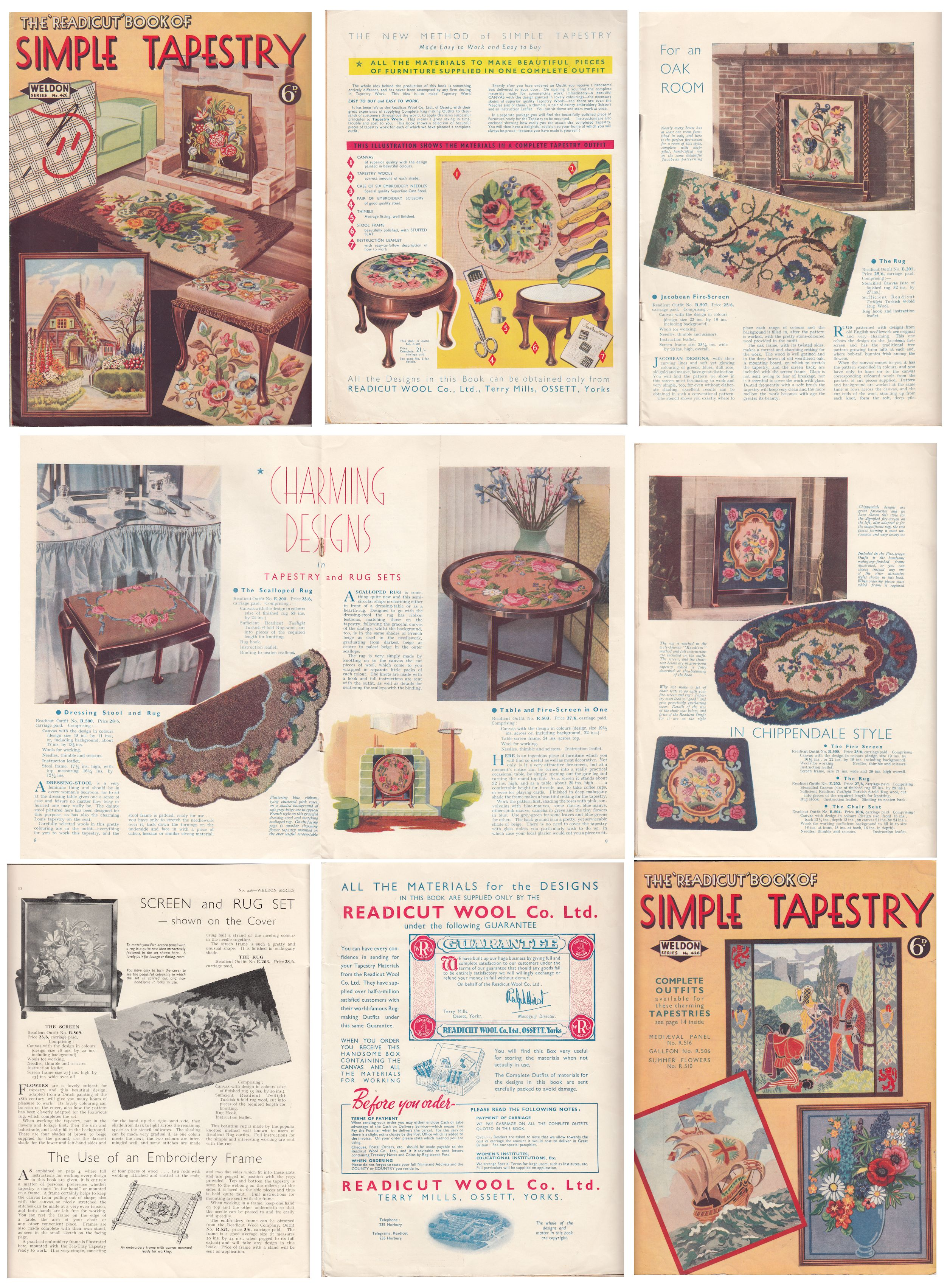 Readicut Simple Tapestry Weldons 426